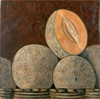 Melones, 1999, oil on canvas